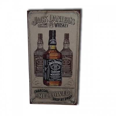 PLACA DECORATIVA JACK DANNIELS MELLOWED